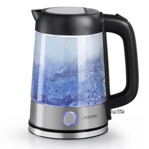 arendo edelstahl-glas Wasserkocher