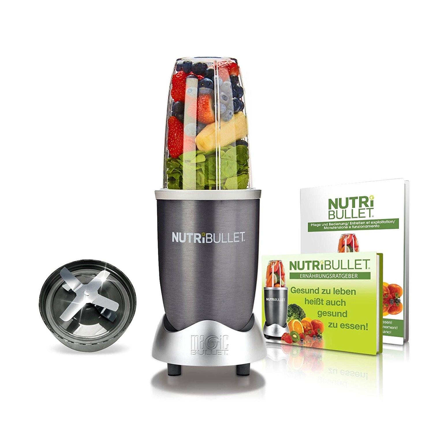 nutribullet test 2017 der smoothie maker der extraklasse. Black Bedroom Furniture Sets. Home Design Ideas